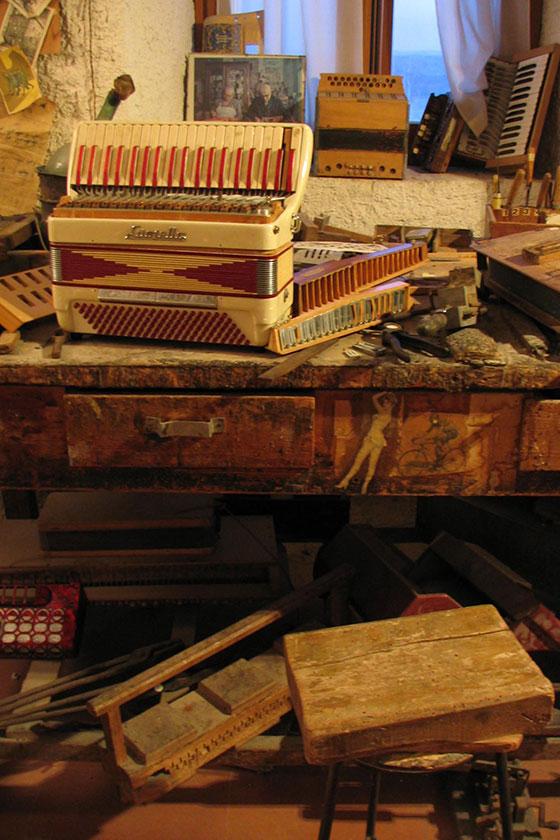 Musée de l'accordéon de Castelfidardo